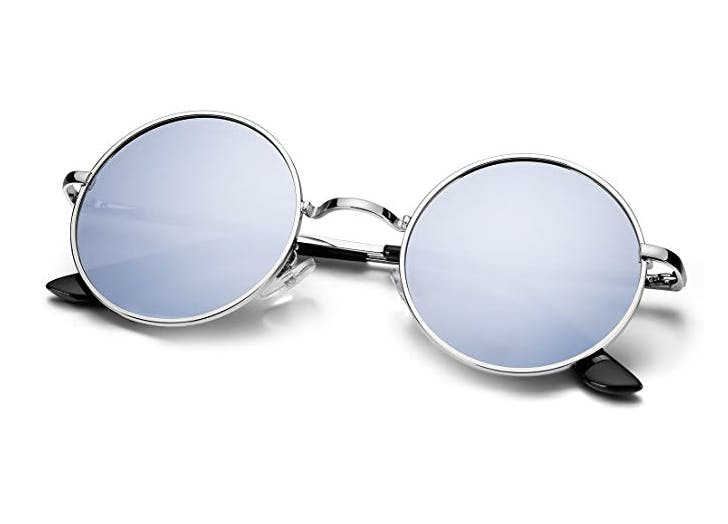 round mirrores sunglasses