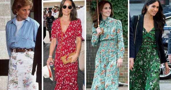 How to Wear Florals Like a Royal This Spring