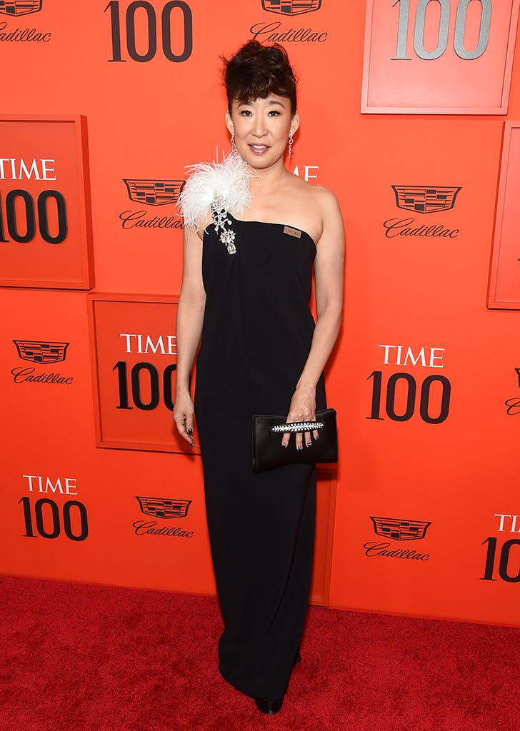 sandra oh at the time 100 gala
