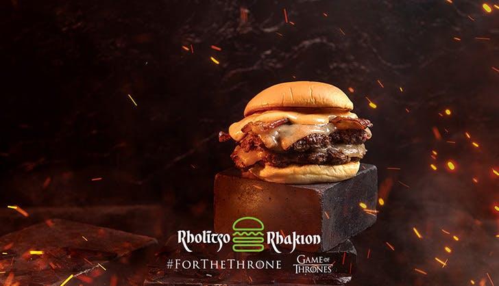 shake shack game of thrones menu