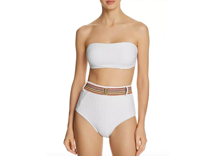 shoshanna bikini with a belt