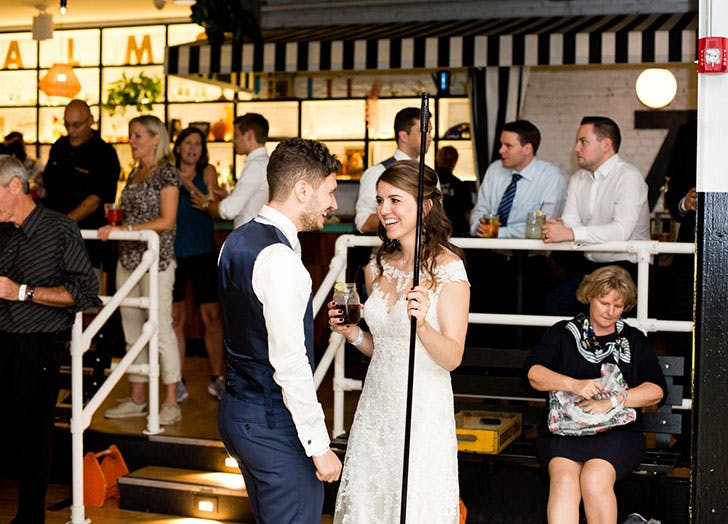 shuffleboard club wedding 4