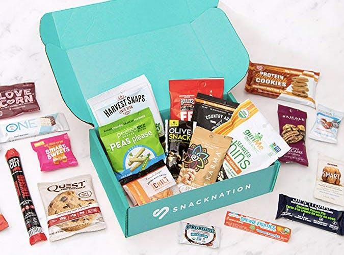 snack nation suscription box