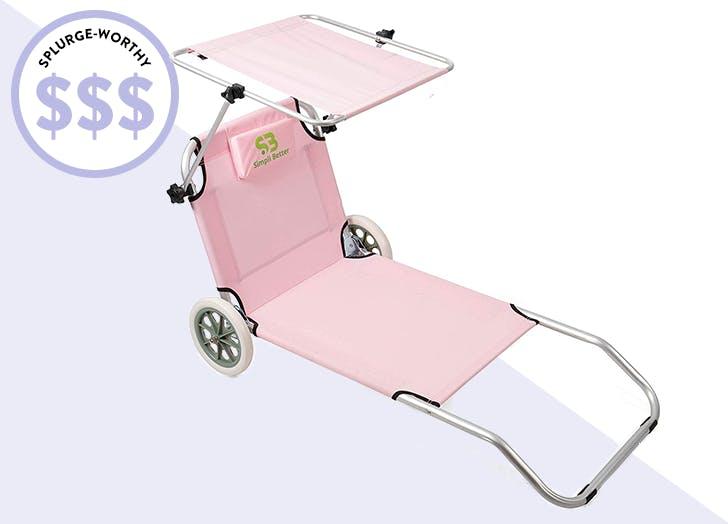 splurge worthy beach chair