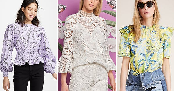 a8efa2fa7b4 27 Spring Blouses with a Built-In Styling Trick · Jeans