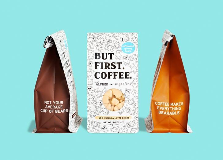 sugarfina coffee gummy bears bags