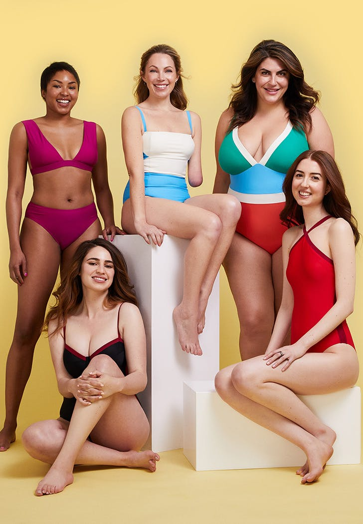 summersalt power suit swimwear collection