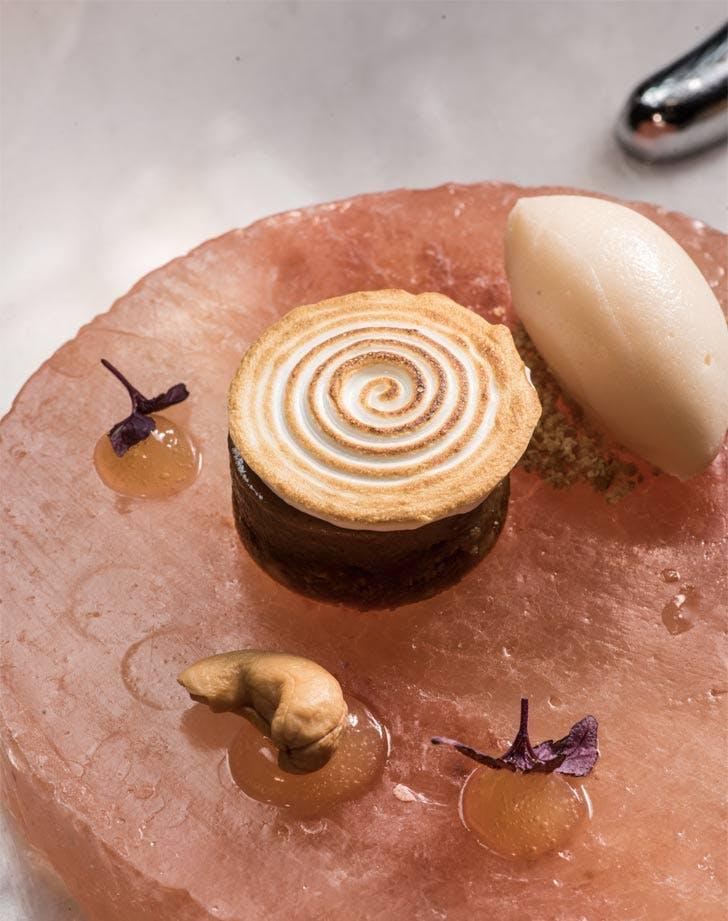the dessert bar