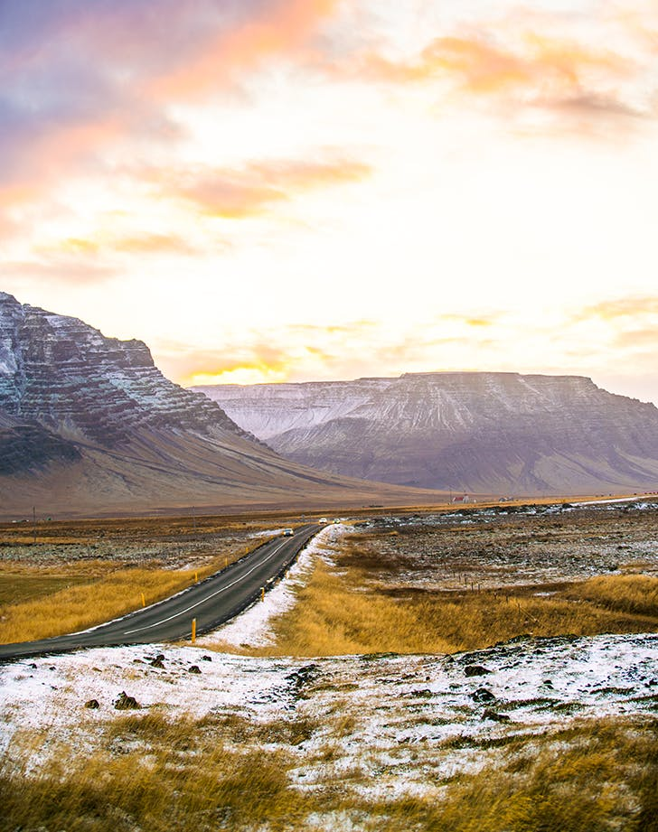 the ring road in iceland