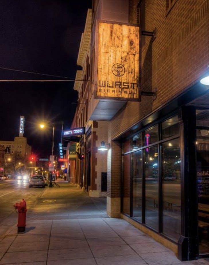 wurst bier hall north dakota dog friendly bar