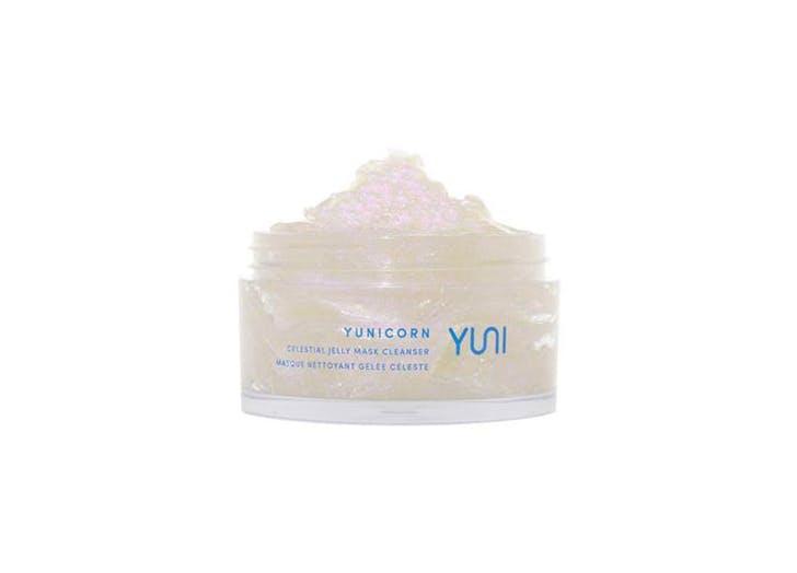 yuni yunicorn celestial jelly cleanser mask