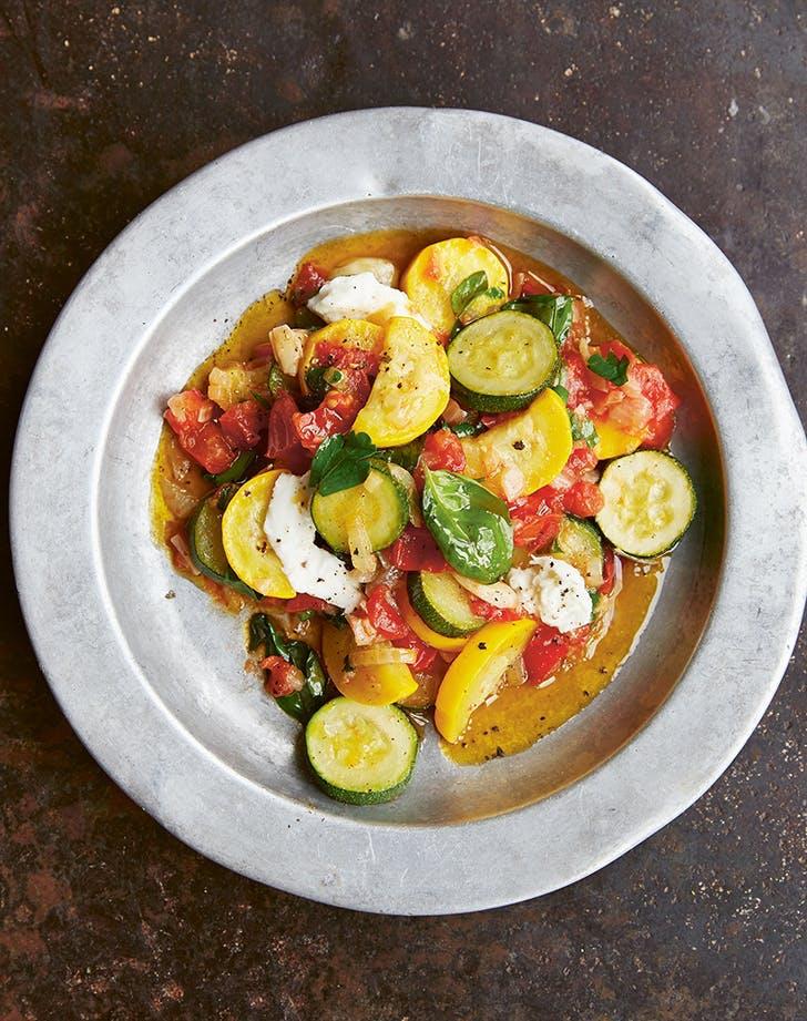 zucchini and tomato ragu recipe