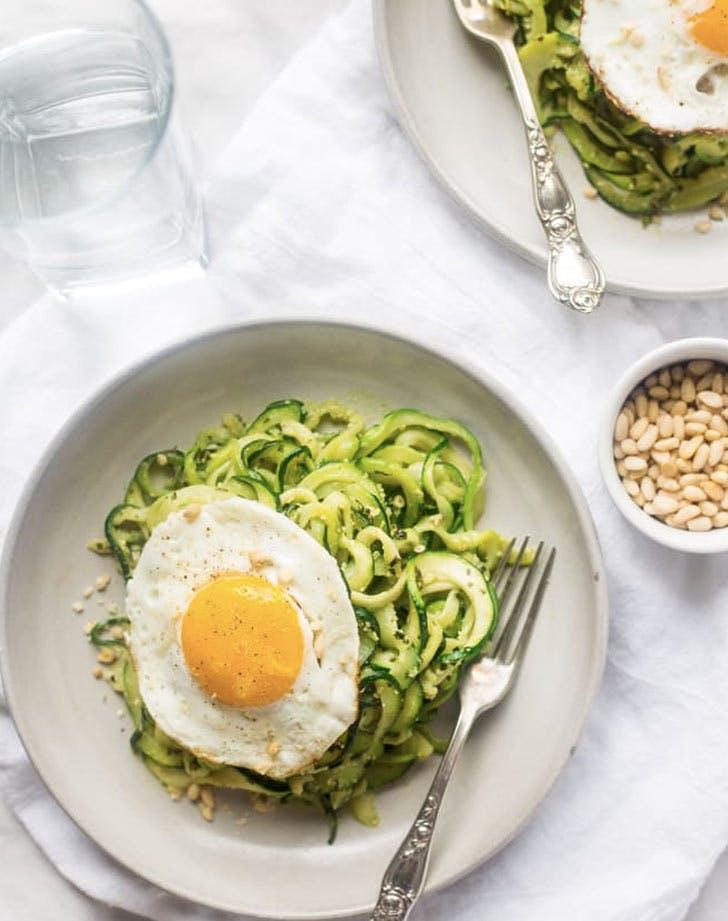 zucchini noodles with everything pesto paleo pasta recipes