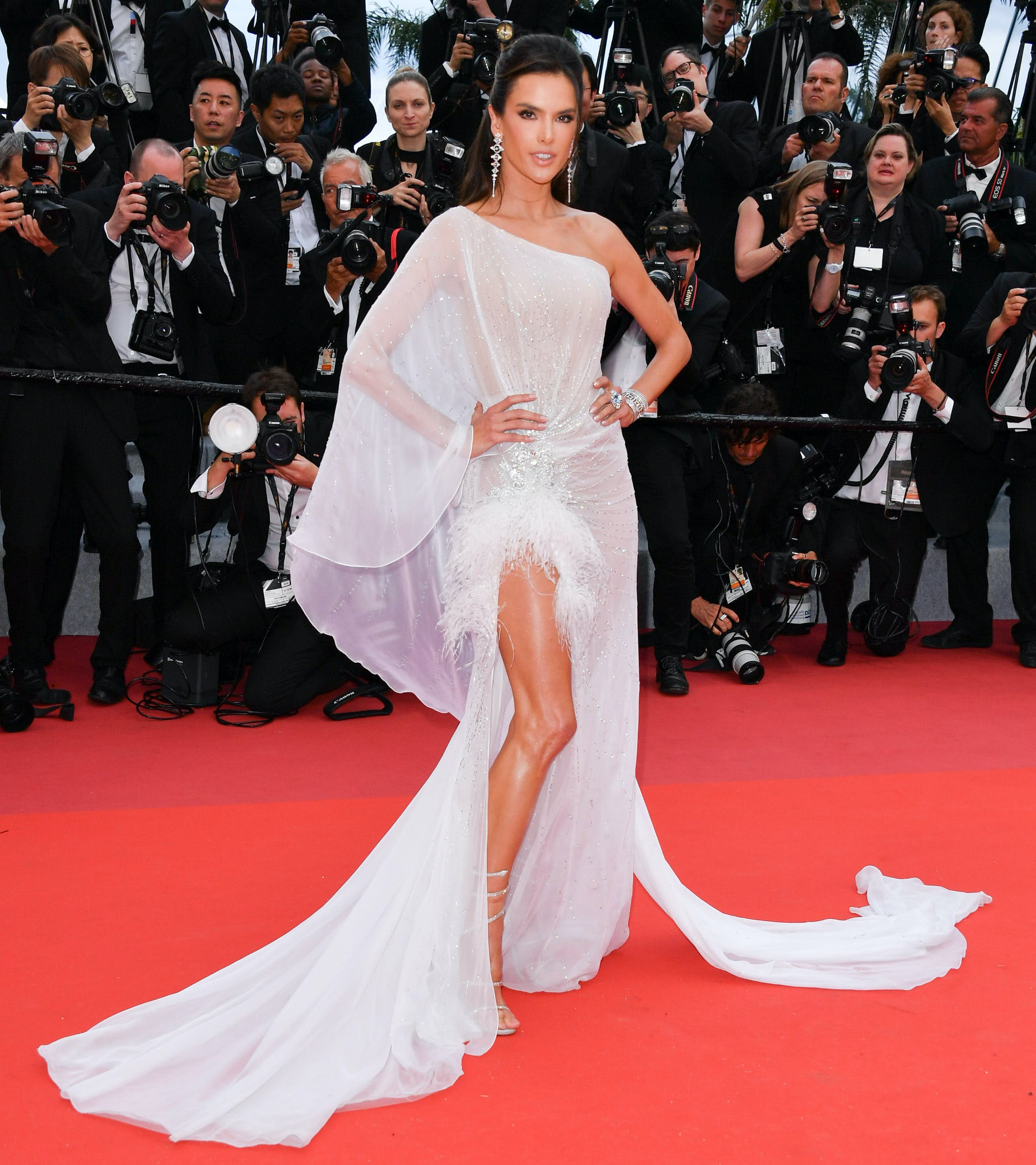 Alessandra Ambrosio at the 72nd annual Cannes Film Festival