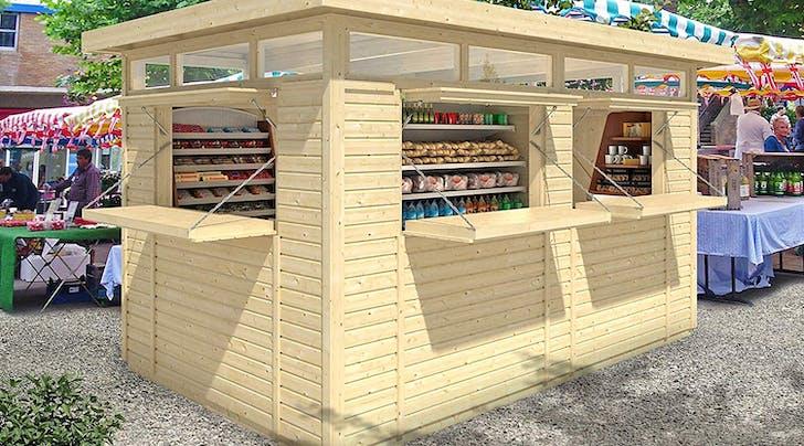 Amazon Is Selling a DIY Backyard Bar and Hello, Summer