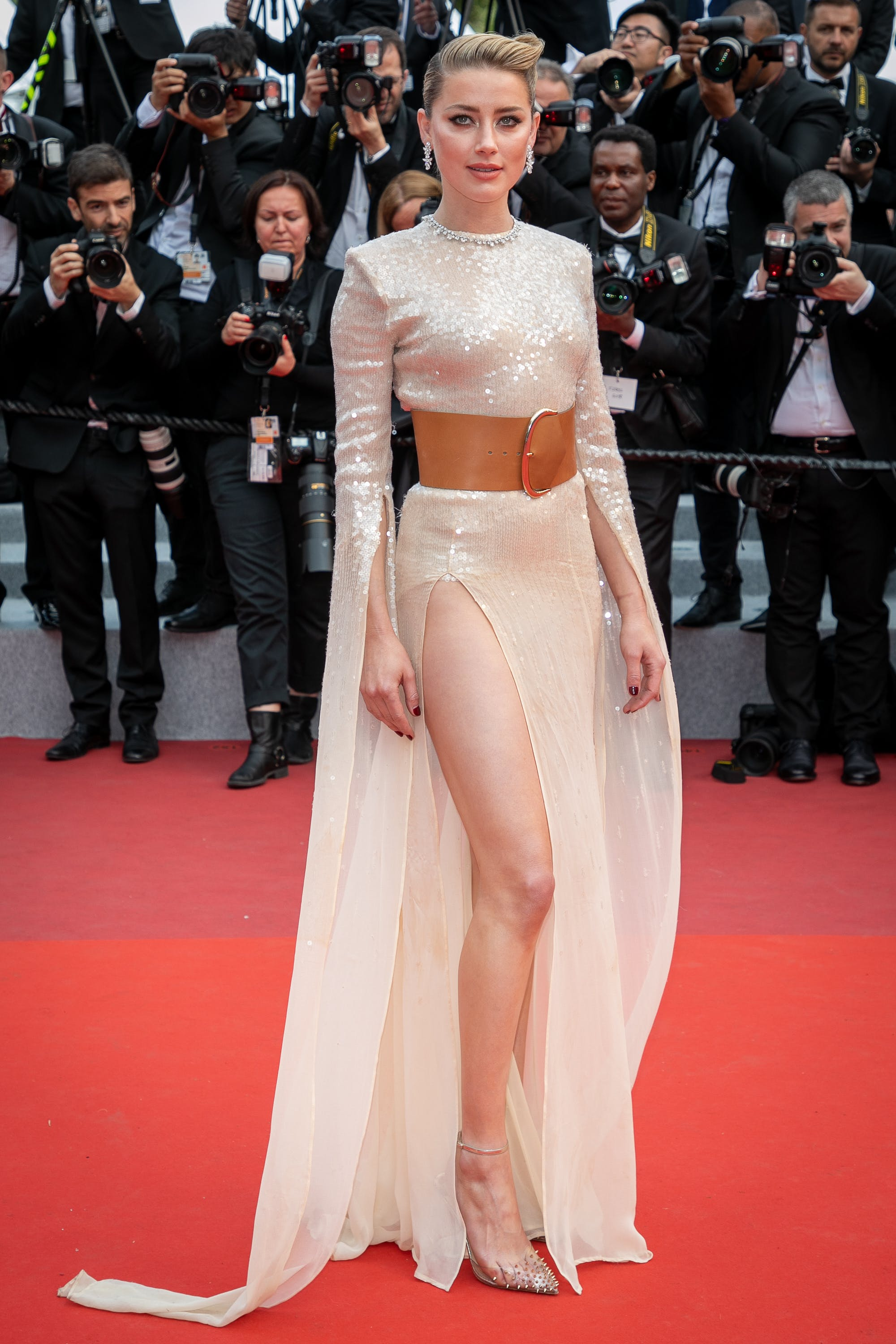 Amber Headr at the 72nd annual Cannes Film Festival