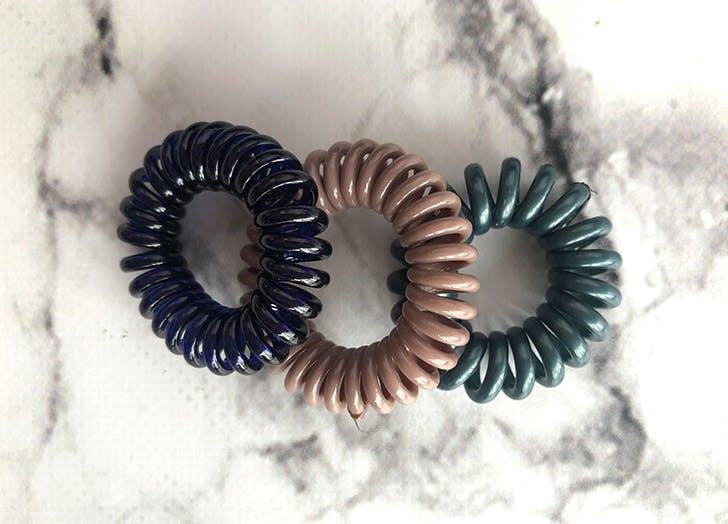 Anthropologie Mini Coiled Hair Tie Set1