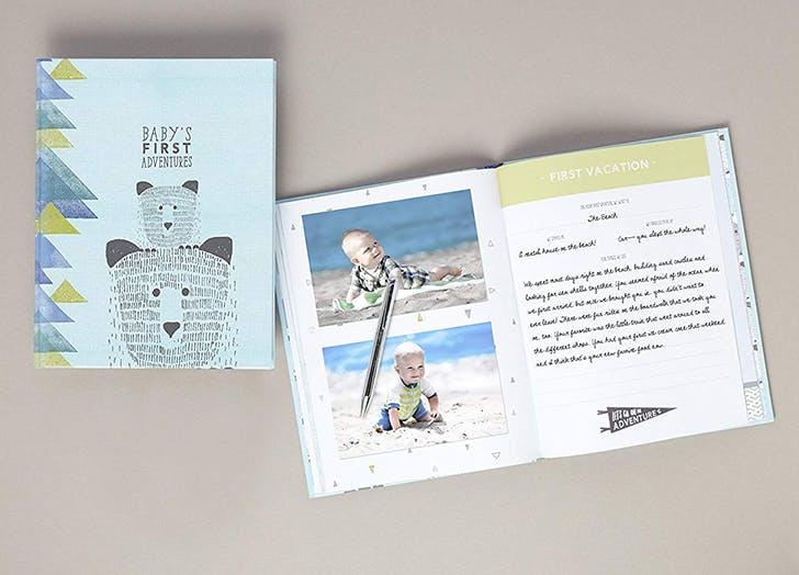 CR Gibson Bear Baby Memory Book