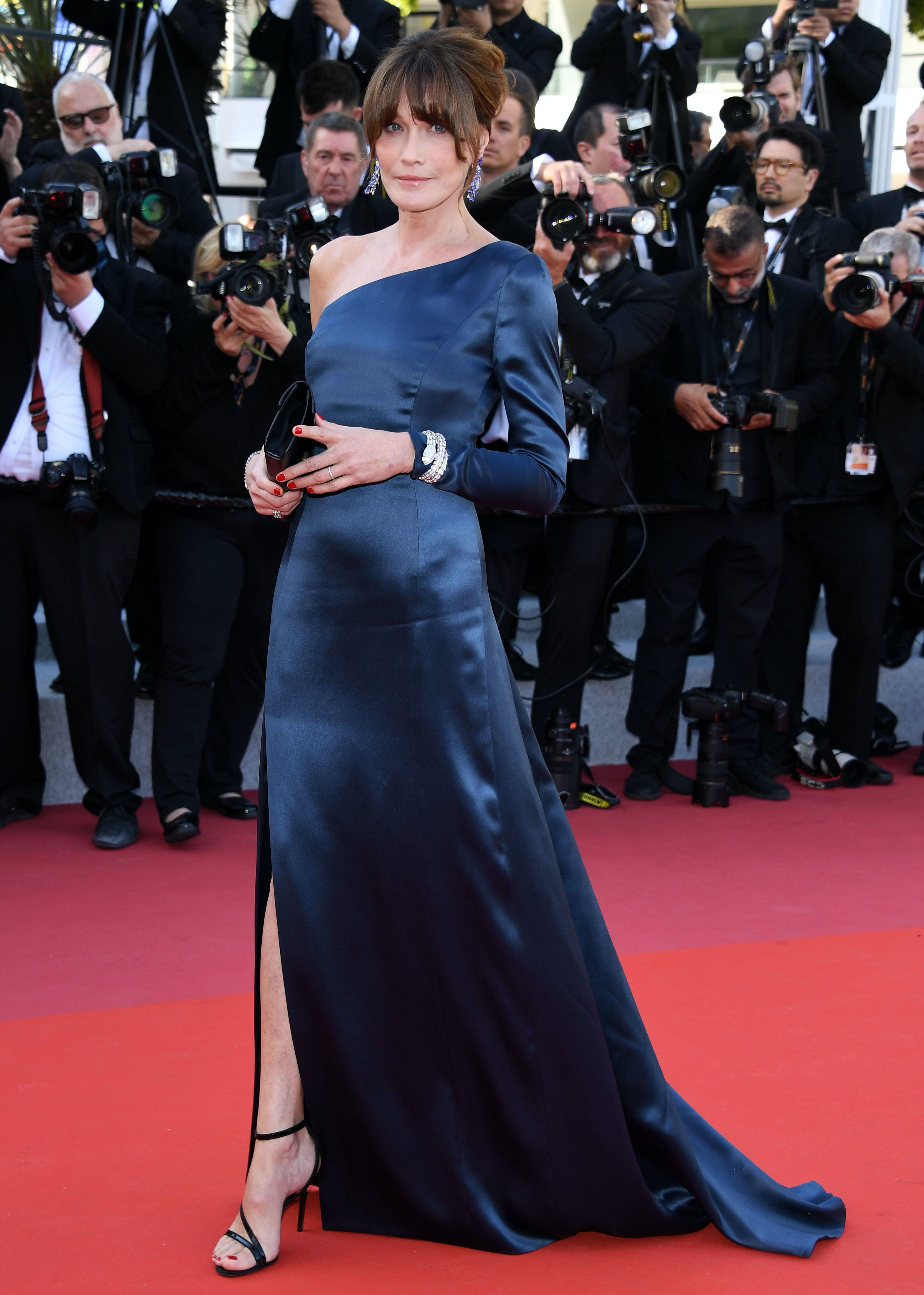 Carla Bruni at the 72nd annual Cannes Film Festival