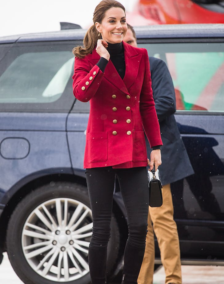 Kate Middleton's Chic Red Blazer Is Giving Us Serious Equestrian Vibes
