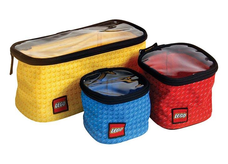 Lego storage 3 piece cubes