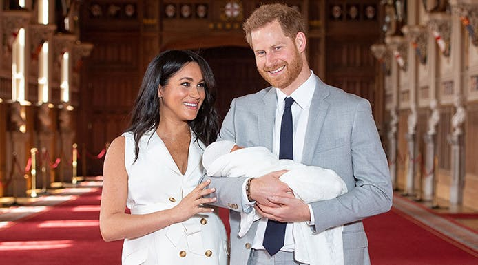 The Meaning Behind Royal Baby Name Archie Harrison Mountbatten-Windsor (& Its Sweet Princess Diana Tie-In)