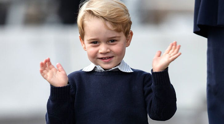 Wait, Did Prince George Accidentally Give Away the New Royal Baby Name Months Ago?