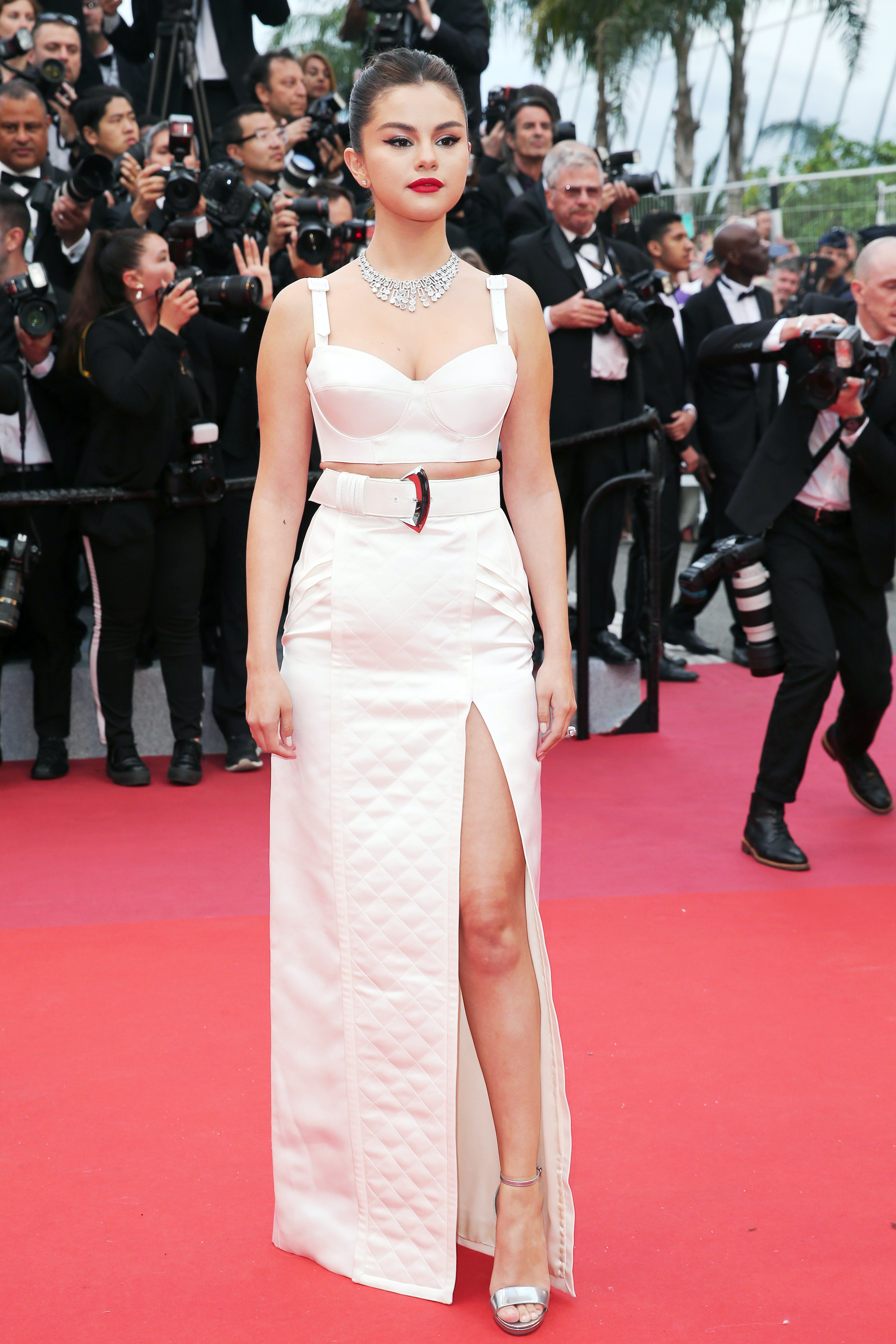 Selena Gomez at the 72nd annual Cannes Film Festival