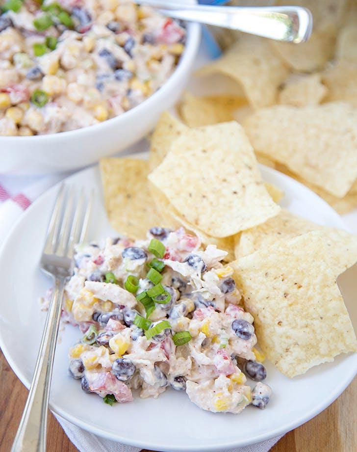 Skinny Southwest Chicken Salad