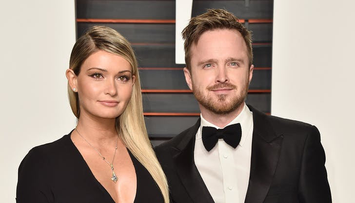 aaron paul wife lauren parsekian