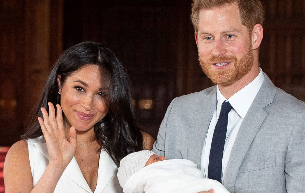 Baby Archie Was Just Introduced to Another Royal Family Member