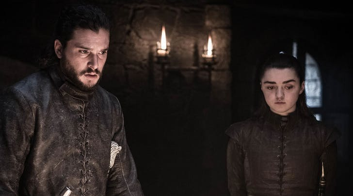 There's a Theory that Jon Snow Helped Arya Defeat the Night King in 'Game of Thrones' & I'm a Little Skeptical