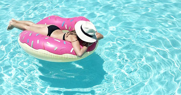 the best pool floats on amazon purewow. Black Bedroom Furniture Sets. Home Design Ideas
