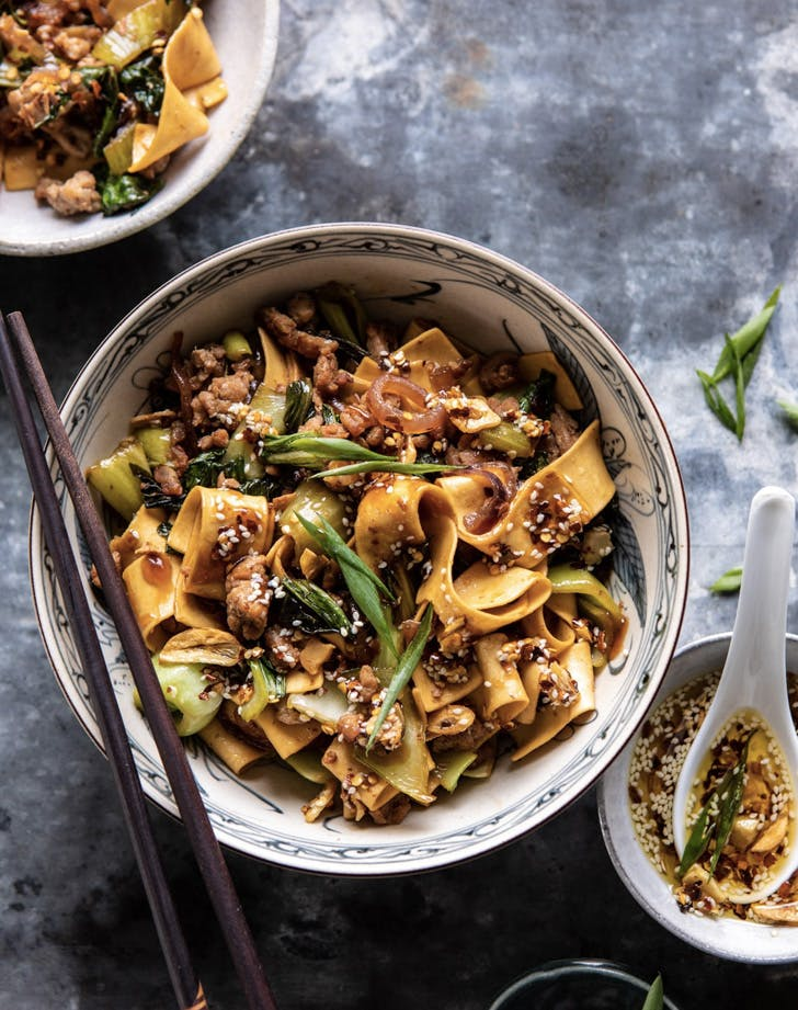 better than takeout szechuan noodles with sesame chili oil recipe