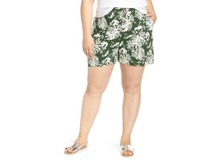 bp nordstrom plus size shorts