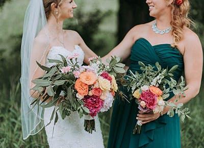 bride and Bridesmaid 400