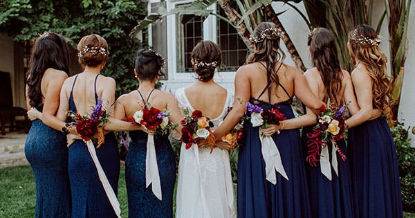 11 Seriously Chic Bridesmaid Hair Ideas for Your Non-Basic Wedding Party