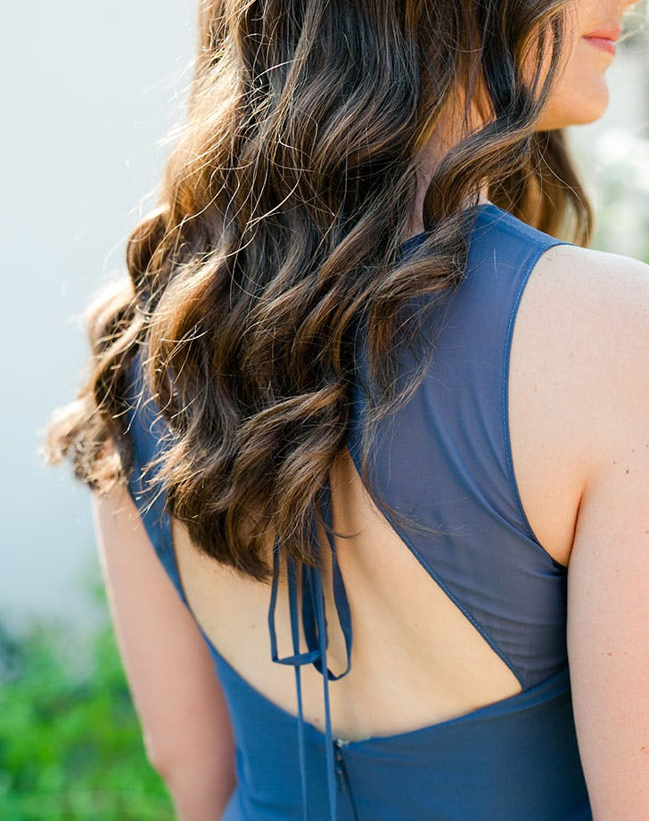 bridesmaid hair style 7