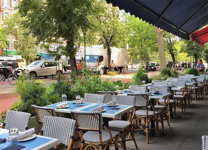 cafe clover sidewalk cafe nyc