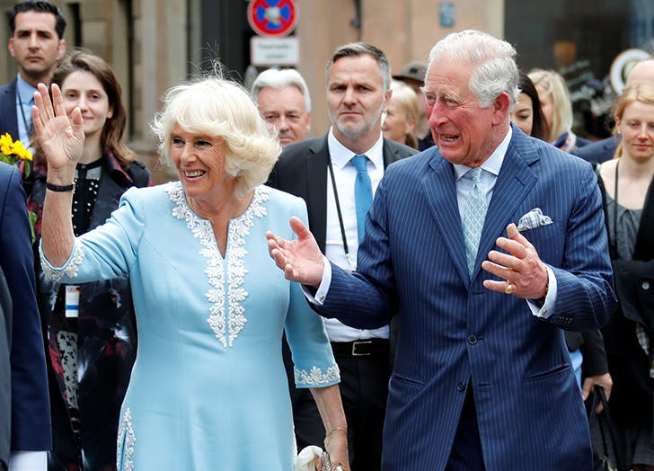 A Royal Fan Just Showed Camilla Parker-Bowles a Pic of Her Newborn Grandson and Her Response Was Truly Regal