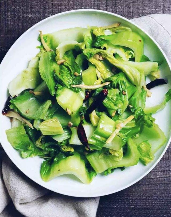 chinese mustard greens recipe