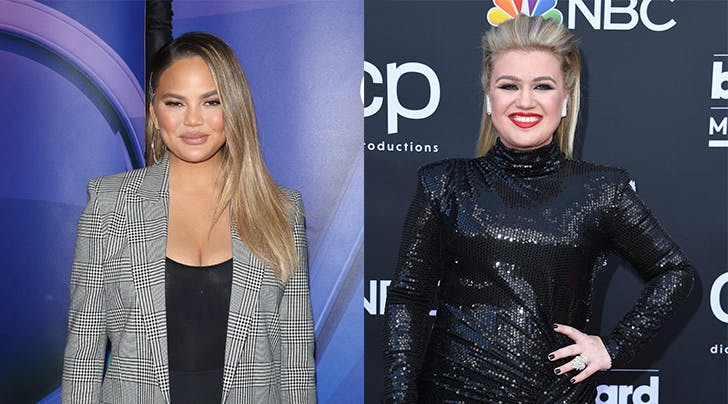 Chrissy Teigen and Kelly Clarkson Are Planning a Wedding and You'll Never Guess Who Its For