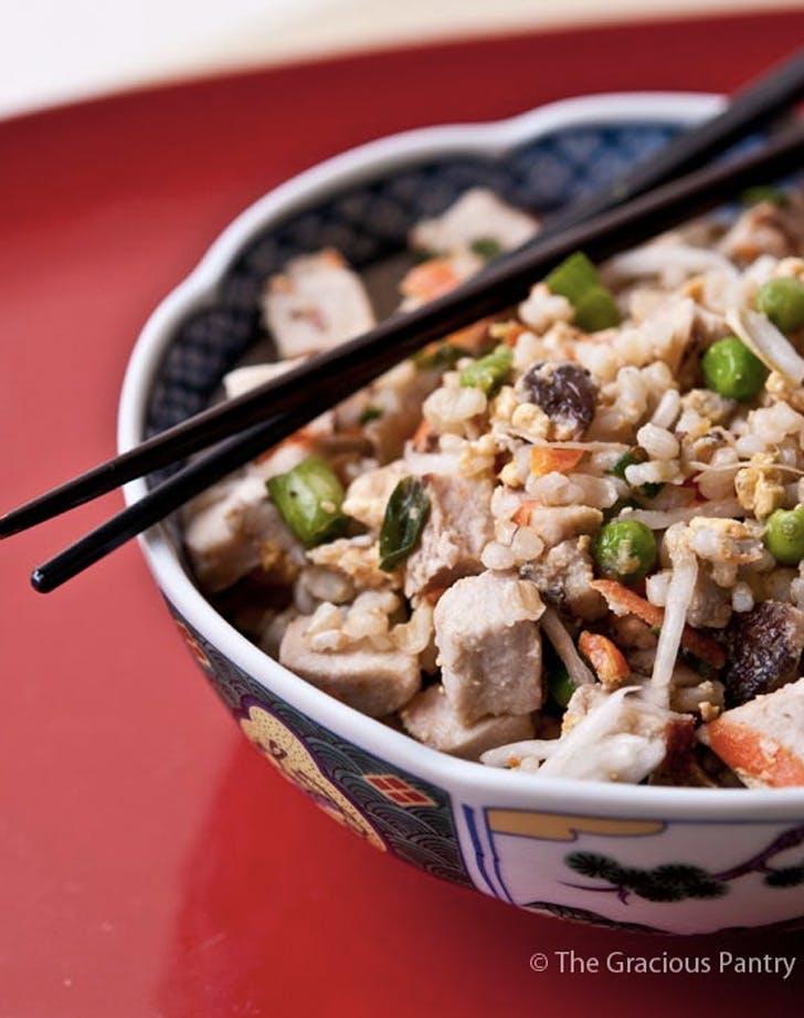 clean eating pork fried rice recipe