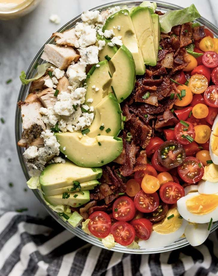 cobb salad garbage salad recipes