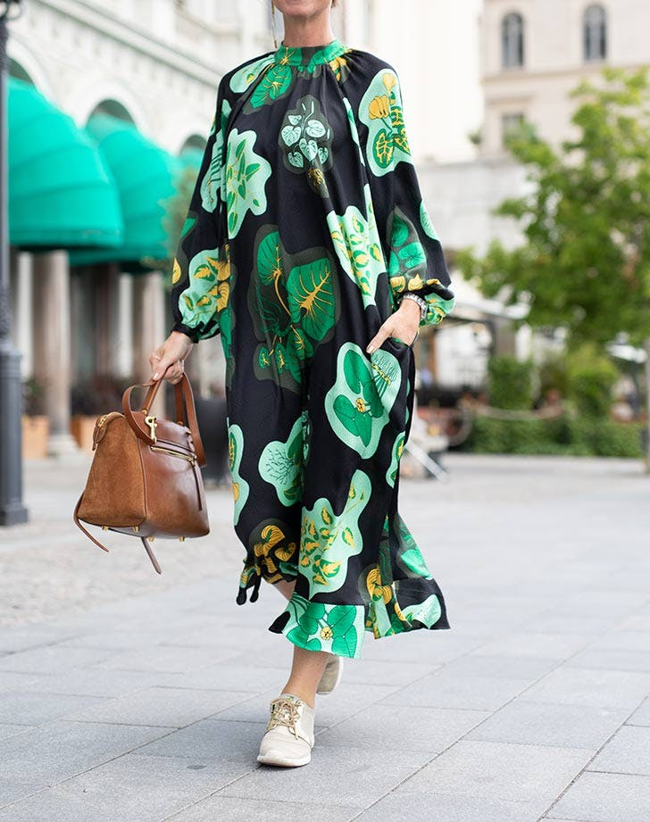 creative professional caftan green