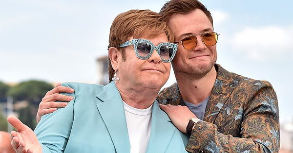 Taron Egerton Tied Elton John's Shoe on the Cannes Red Carpet, Proving Even Movie Stars Have Idols