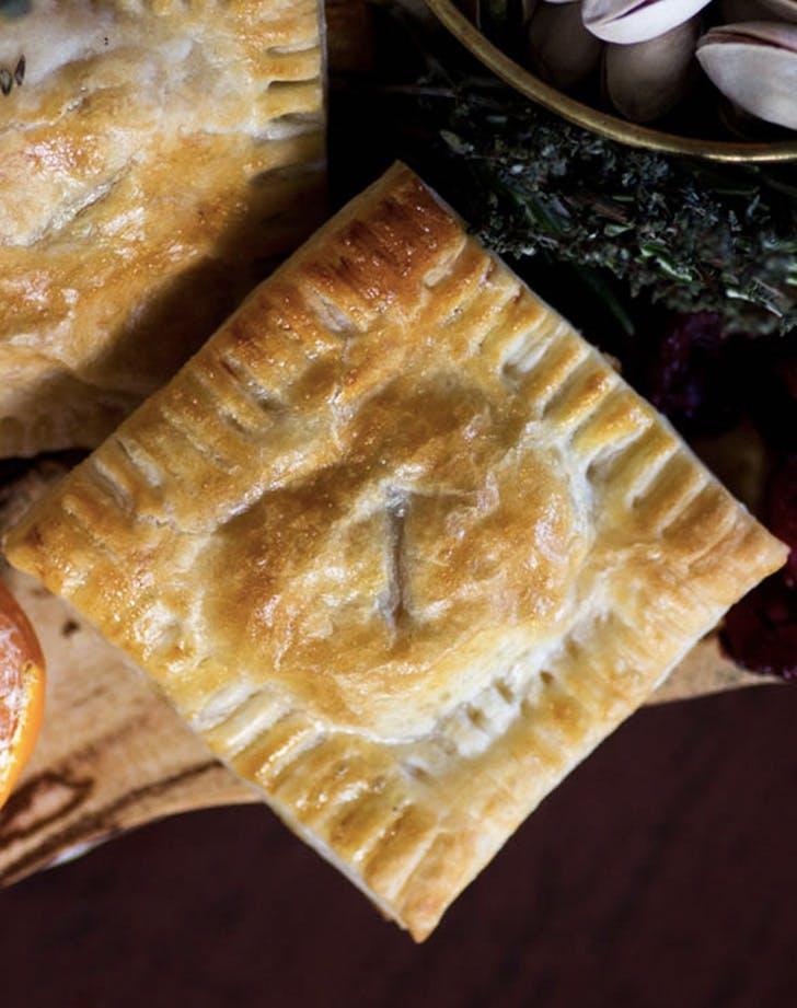 fontina and prosciutto puff pastry squares recipe