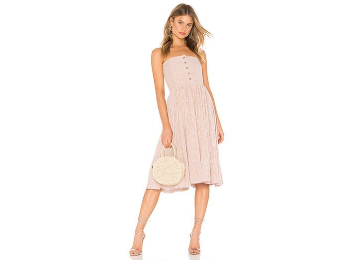 fp strapless dress