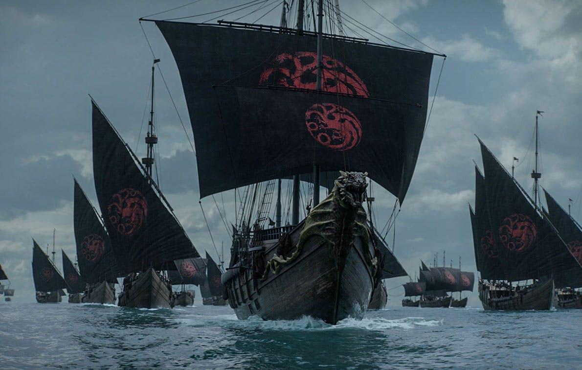 game of thrones ep 4 targaryen ships1