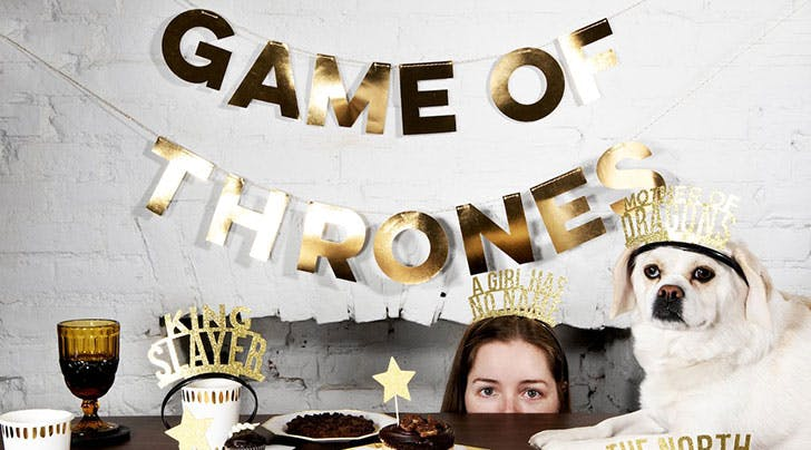 This 'Game of Thrones' Party-in-a-Box Kit Is Completely Unnecessary, but We Want One for Our Viewing Party Anyway